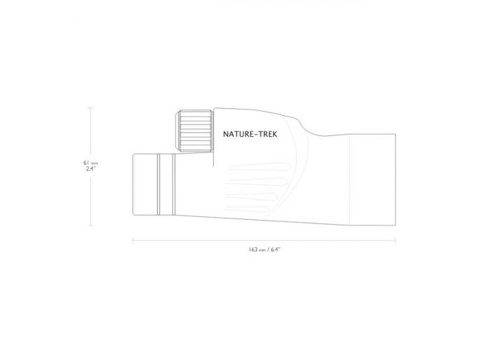 Монокуляр Hawke Nature Trek 10x50 WP