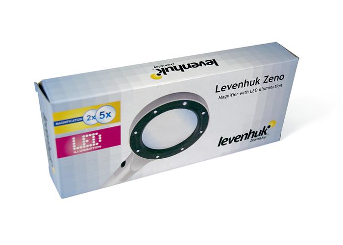 Лупа Levenhuk Zeno 100, 2,5 / 5x, 78/19 мм, метал