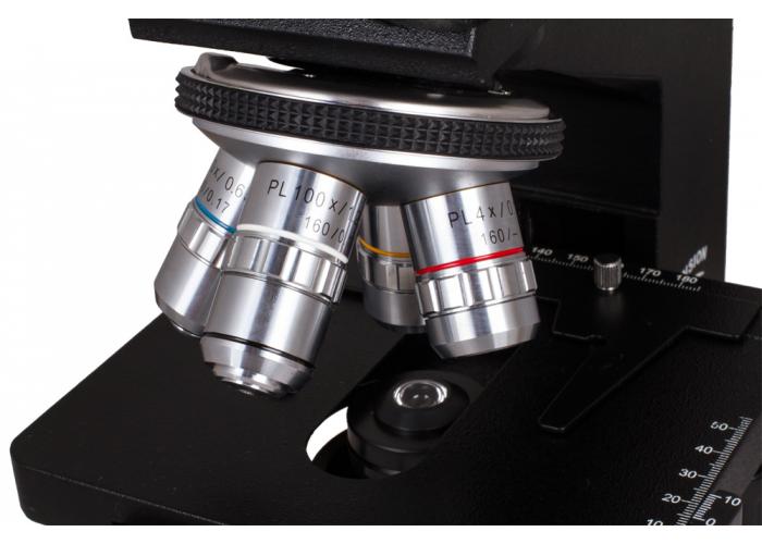Мікроскоп Levenhuk D870T, тринокулярний