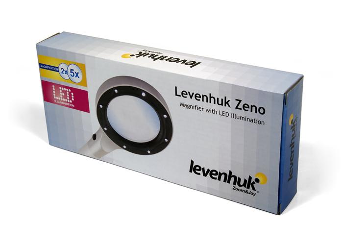 Лупа Levenhuk Zeno 60, 2,5/5x, 88/21 мм, 2 LED