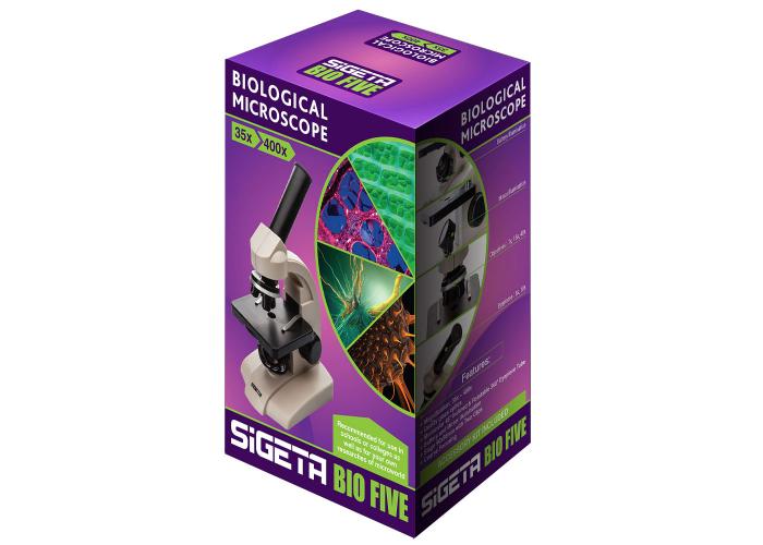 Микроскоп SIGETA BIO FIVE (35x-400x)