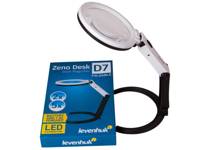 Лупа настільна Levenhuk Zeno Desk D7