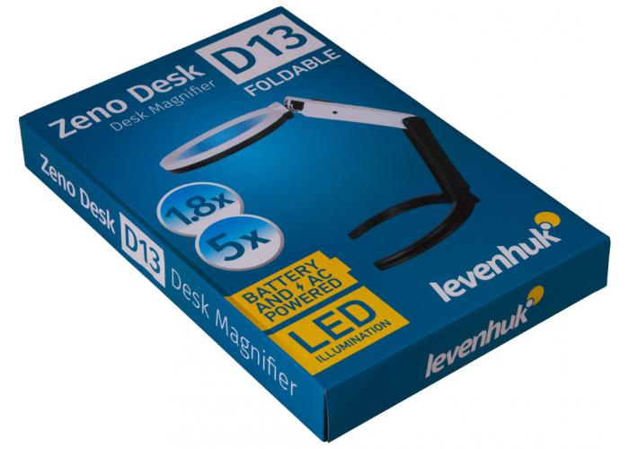 Лупа настольная Levenhuk Zeno Desk D13