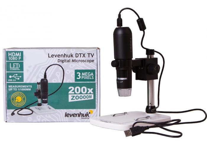 Мікроскоп цифровий Levenhuk DTX TV