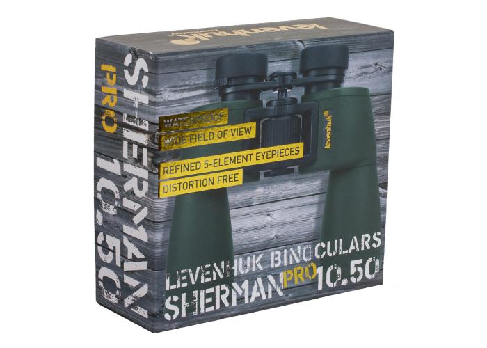 Бинокль Levenhuk Sherman PRO 10x50