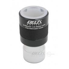 "Лінза Барлоу Delta Optical-GSO 2.5-x 1.25 """