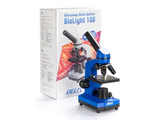 Микроскоп Delta Optical Biolight 100 синий