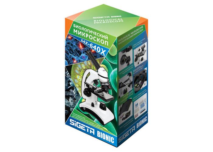 Мікроскоп Sigeta Bionic 64x-640x