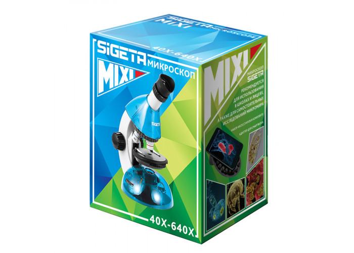 Детский микроскоп Sigeta Mixi 40x-640x с адаптером для смартфона