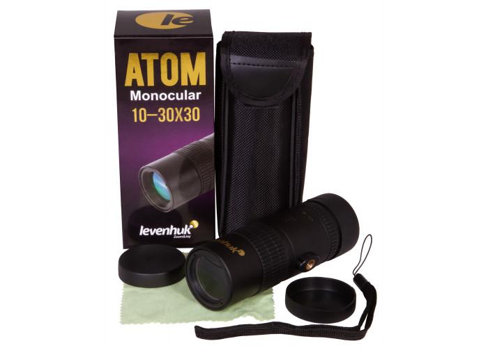 Монокуляр Levenhuk Atom 10-30х30