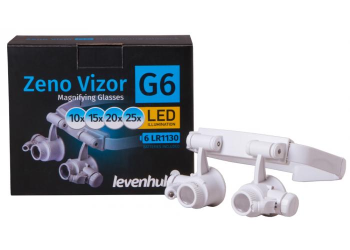 Лупа-окуляри Levenhuk Zeno Vizor G6