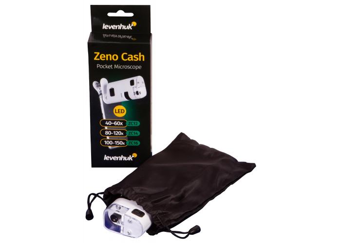 Мікроскоп кишеньковий Levenhuk Zeno Cash ZC12