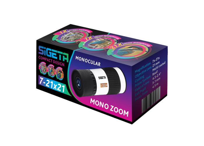 Монокуляр Sigeta Mono Zoom 7-21x21
